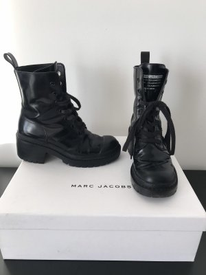 Marc Jacobs Lace-up Boots black leather