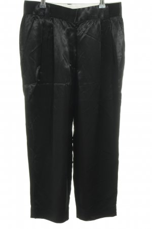 Marc Jacobs Bundfaltenhose schwarz Business-Look