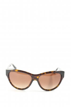 Marc Jacobs Butterfly bril bruin-licht Oranje volledige print casual uitstraling