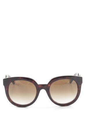 Marc Jacobs Occhiale a farfalla crema-marrone Stampa leopardata