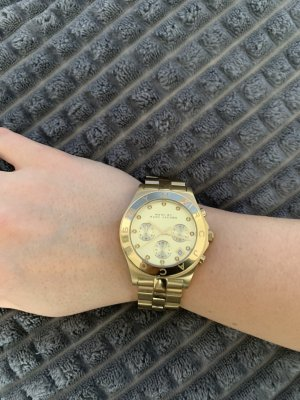 Marc by Marc Jacobs Watch With Metal Strap gold-colored stainless steel
