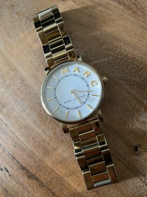 Marc Jacobs Watch With Metal Strap gold-colored