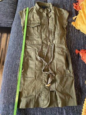 Marc Jacobs Robe en jean vert olive-gris vert