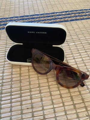 Marc Jacobs Gafas mariposa marrón-negro-marrón