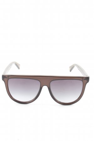 Marc Jacobs eckige Sonnenbrille braun Business-Look