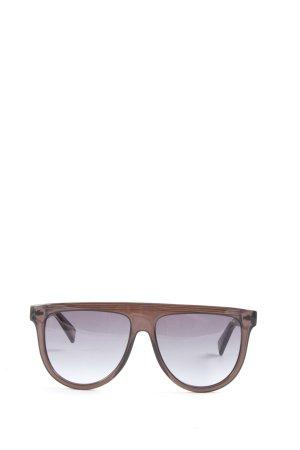 Marc Jacobs Gafas de sol cuadradas marrón look casual