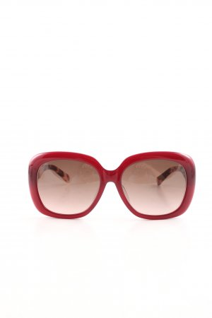 Marc Jacobs Angular Shaped Sunglasses red business style