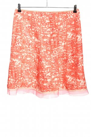 Marc Jacobs Flared Skirt red-cream allover print casual look