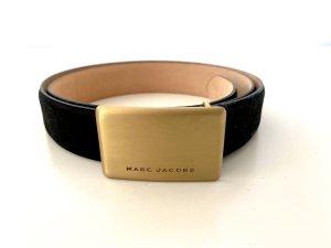 Marc Jacobs Skórzany pasek czarny Skóra