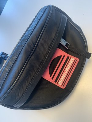 Marc Jacobs Riñonera negro-rosa