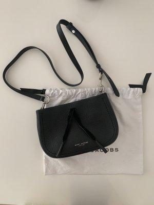 Marc Jacobs Sac à main noir-argenté cuir