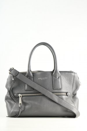 Marc Jacobs Bolso barrel gris claro estilo «business»