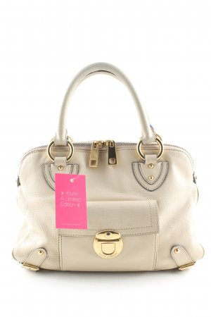 Marc Jacobs Bolso barrel crema estilo «business»