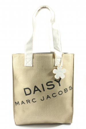 Marc Jacobs Carry Bag cream printed lettering casual look
