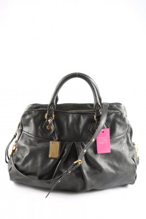 Marc Jacobs Bolso barrel negro look casual