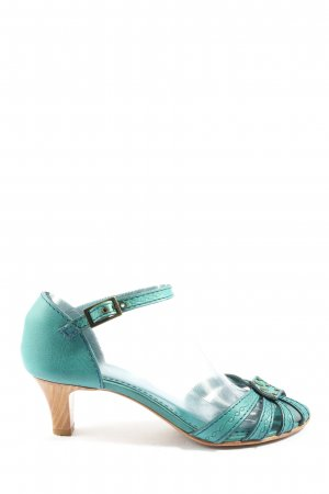 Marc Jacobs High Heel Sandaletten silberfarben-blau Casual-Look