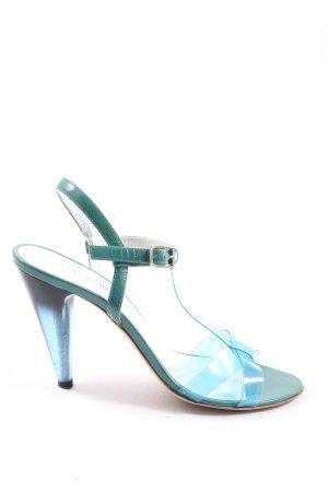 Marc Jacobs High Heel Sandal blue-green elegant