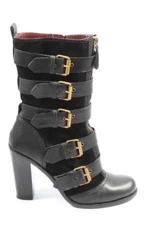 Marc Jacobs High Heel Stiefel schwarz Casual-Look