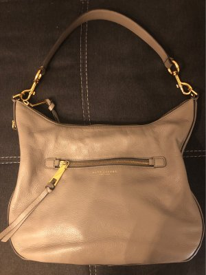 Marc Jacobs Bolsa Hobo color oro-gris