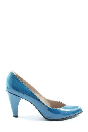 Marc Jacobs Pumps met hoge zool blauw casual uitstraling