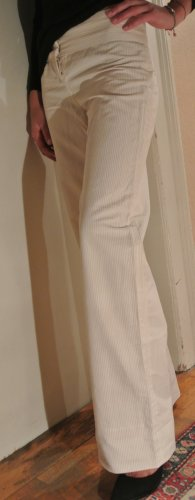 Marc Jacobs Trousers white-nude cotton