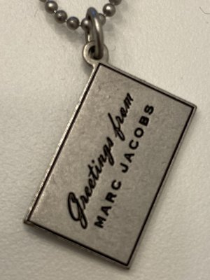 Marc Jacobs Ketting zilver