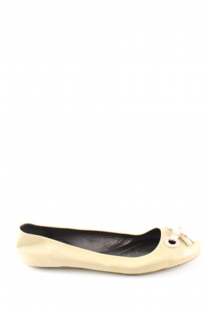 Marc Jacobs Patent Leather Ballerinas cream casual look