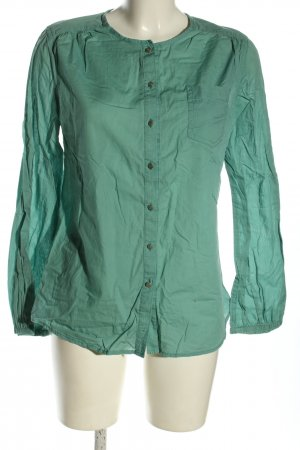 Marc Jacobs Long Sleeve Blouse turquoise casual look