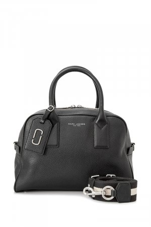 Marc Jacobs Satchel zwart Leer