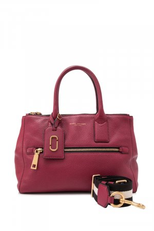 Marc Jacobs Satchel rood Leer