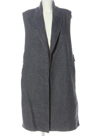 Marc Jacobs Lang gebreid vest lichtgrijs gestippeld casual uitstraling