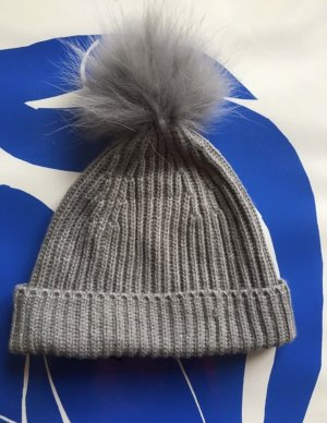 Marc Jacobs Sombrero de punto gris