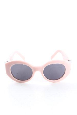 Marc Jacobs Occhiale da sole ovale rosa stile casual