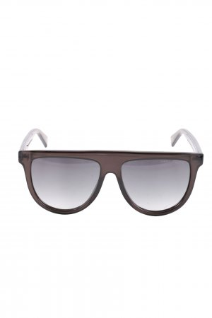 Marc Jacobs Oval Sunglasses brown casual look