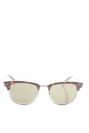 Marc Jacobs Occhiale da sole ovale marrone stile casual