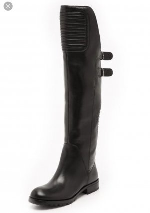 Marc Jacobs Overknees black leather