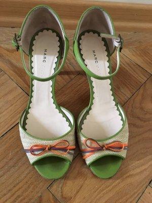 Marc Jacobs Peep Toe Pumps room-groen