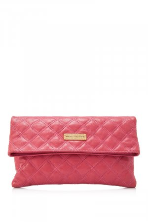 Marc Jacobs Clutch rosé Leer