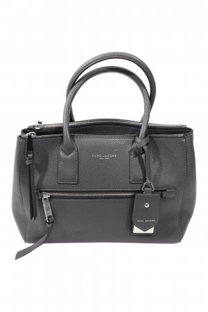 Marc Jacobs Shoulder Bag grey leather