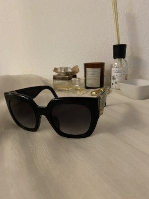Marc Jacobs Occhiale da sole spigoloso nero