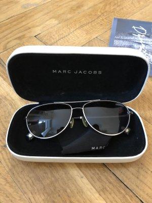 Marc Jacobs Lunettes aviateur noir-argenté