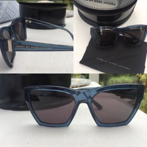 Marc by Marc Jacobs Angular Shaped Sunglasses black-blue
