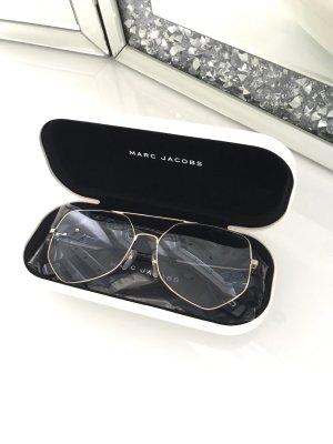 Marc Jacobs Hoekige zonnebril azuur-goud