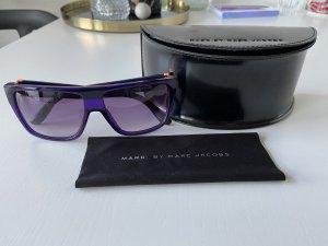 Marc Jacobs Hoekige zonnebril blauw-paars-zalm