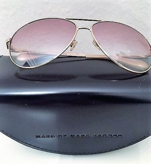 Marc Jacobs Aviator Glasses rose-gold-coloured-gold-colored metal