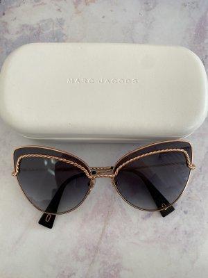 Marc Jacobs Ronde zonnebril roségoud-zwart