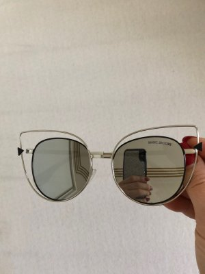 Marc Jacobs Occhiale da sole spigoloso argento