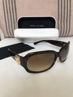 Marc Jacobs Sonnenbrille braun / hellbraun / gold Neuwertig