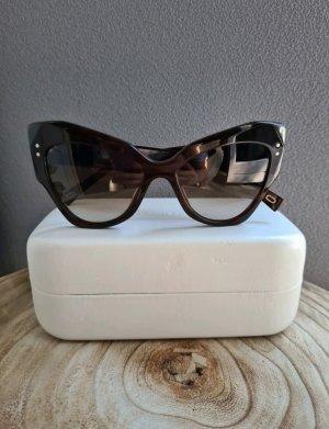 Marc Jacobs Gafas mariposa marrón