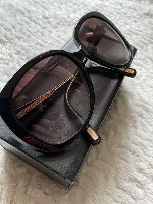 Marc Jacobs Ronde zonnebril zwart-goud